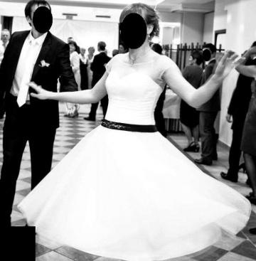 suknia do ślubu - krótka  NOWA NIŻSZA CENA !!!