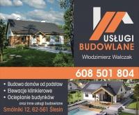 USŁUGI BUDOWLANE Włodzimierz Walczak 608-501-804