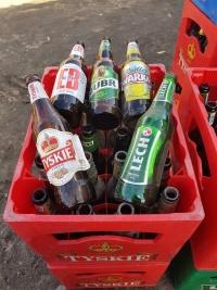 Skup Butelek 0,5l po Piwie transporterów