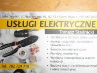 Elektryk........USŁUGI ELEKTRYCZNE 782 729 778