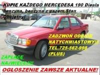 Kupie Mercedesa 124 W124 190 W201 W202 tel.725 562 998 (sieć