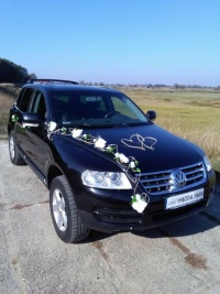 Auto do Ślubu SUV Volkswagen Touareg zawiozę