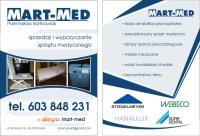 Wypożyczanie i sprzedaż sprzętu medycznego MART-MED