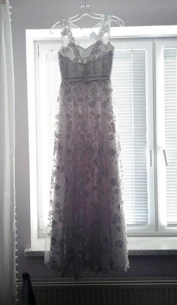 Unikalna suknia. Własny projekt