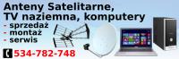 Montaż, serwis anten satelitarnych NC+Polsat itp, naziemnych