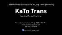 KaTo Trans - przewóz osób kraj i zagranica