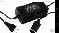 Adapter zasilacz 240/230na 12v