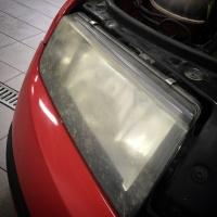 Regeneracja polerowanie zmatowiałych reflektorów lamp Konin