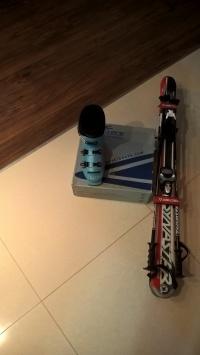Narty i buty narciarskie dla dziecka