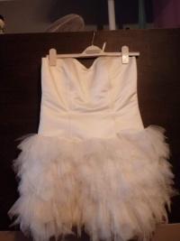 Suknia ślubna krutka