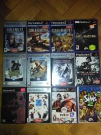 Sprzedam konsolę PS2+GRY