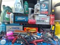 Sprzedam opony zimowe koła felgi stalowe baterie !
