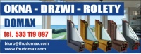 FHU DOMAX - OKNA,DRZWI,ROLETY