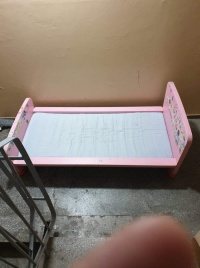 Łóżko dziewczęce