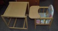 Zestaw Stoliczek z siedzeniem dla dziecka