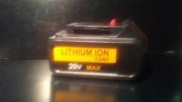 Sprzedam nowy akumulator Li-ion DCB200 20V 5.0Ah