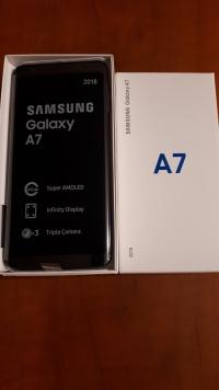 Samsung Galaxy A7 2018 Black 64GB -Nowy