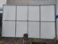 Reklama stojąca ablica 2,5 x 4m nowa