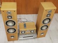 Zestaw głośników TONSIL Fenix 5.1 amplituner Pioneer VSX-415