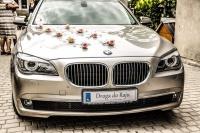 Wynajem auta z kierowcą. BMW 7 zawiozę do ślubu.