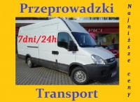 Transport Przeprowadzki Wywóz Taxi Bagażowe już od 30 zł24/7