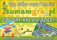 SUPER GRY XXL dla DZIECI - mega wielki format do skakania wi ...
