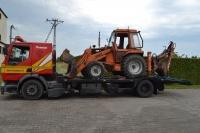 Transport maszyn rolniczych, budowlanych ład. do 10 ton