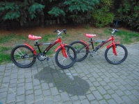 2 rowerki koła 20