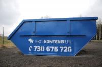 Eko kontener wywóz odpadów pobudowlanych, komunalnych, gruzu