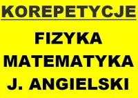 Korepetycje - matematyka, fizyka, angielski - Turek