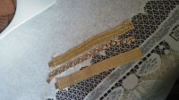 złoty łańcuch bransoleta