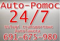 Pomoc Drogowa Transport Autolaweta Auto Pomoc