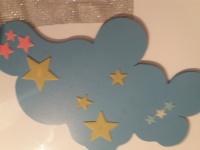 Gwizadki florescencyjne nad łóżko dla dziecka
