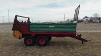 Rozrzutnik obornika Polski Tandem 6 ton okazja