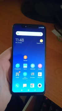 Xiaomi Mi8 6/128 GB Niebieski Gwarancja