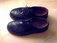 Buty męskie retro, lata 20-30, używane, rozmiar 41-42