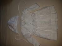 Sukienka ubranko do chrztu