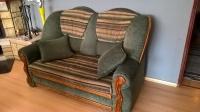 sofa 2 i 3 osobowa oraz duzy fotel