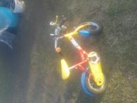 rowerek i hustawka