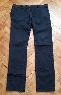 NOWE Spodnie materiałowe ZARA + pasek (rozmiar L/XL) męskie