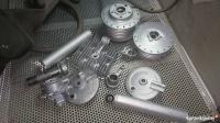 SZKIEŁKOWANIE aluminium nierdzewka