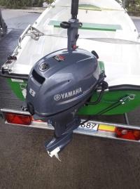 Silnik zaburtowy Yamaha 8 km F8FMHS