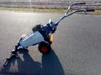 Kosiarka listwowa z napędem, karczownica. traktorek jednoosi