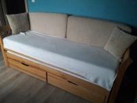 Łóżko podwojne z szufladami 150 zł