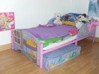 Łóżko dla dziewczynki 140x80