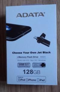 Pendrive ADATA iOS I-memory AI920 128GB czarny Turek
