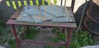 Stół warsztatowy metalowy