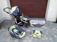 Sprzedam wózek dziecięcy trzy części