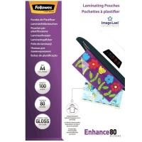 Folia laminacyjna Fellowes 100 kpl do laminowania A4 80mic