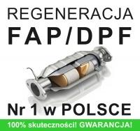 Regeneracja DPF/FAP - wszystkie marki, mercedes,
